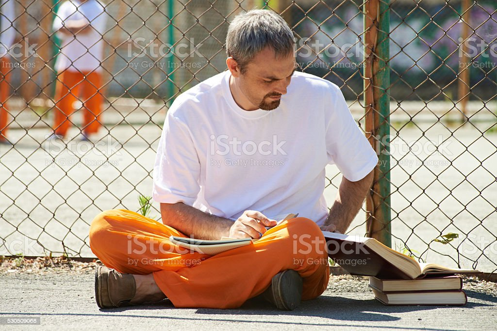 Imprisoned student stock photo