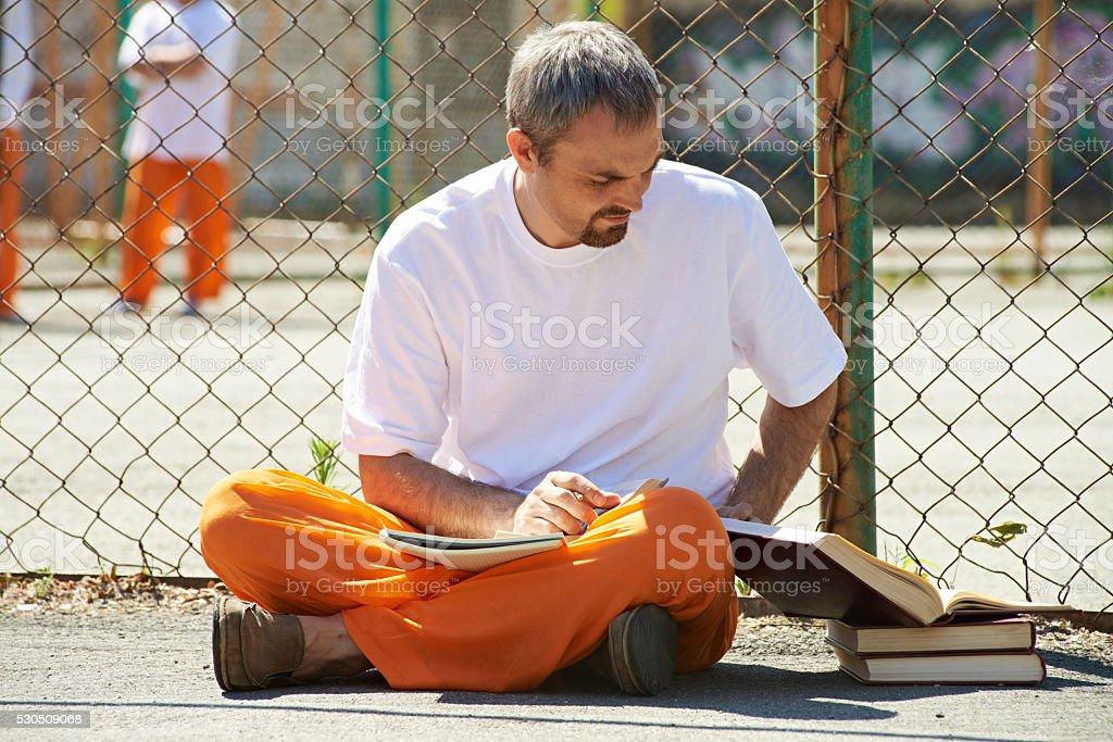 Imprisoned student stock photo