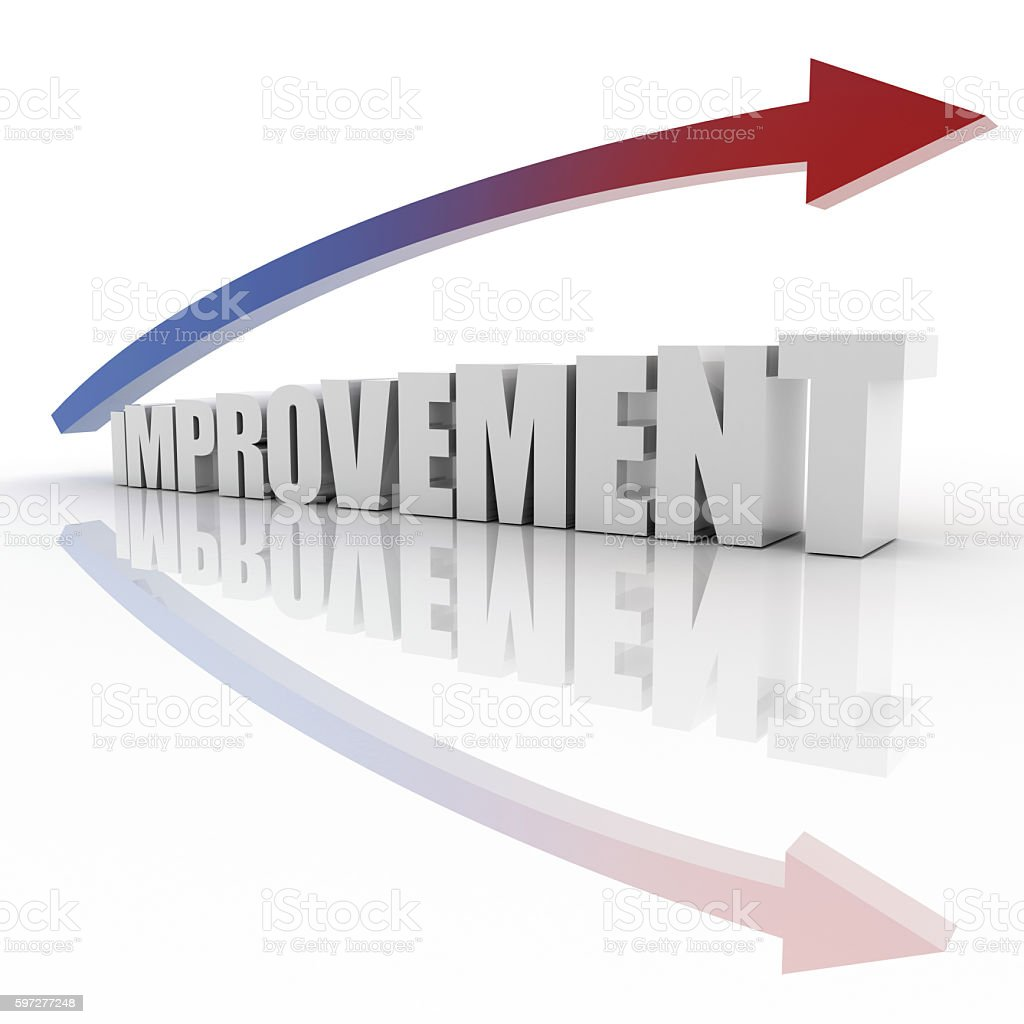 Improvement and growth stock photo