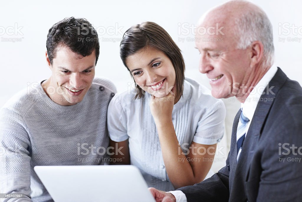 Improving our life with expert advice royalty-free stock photo