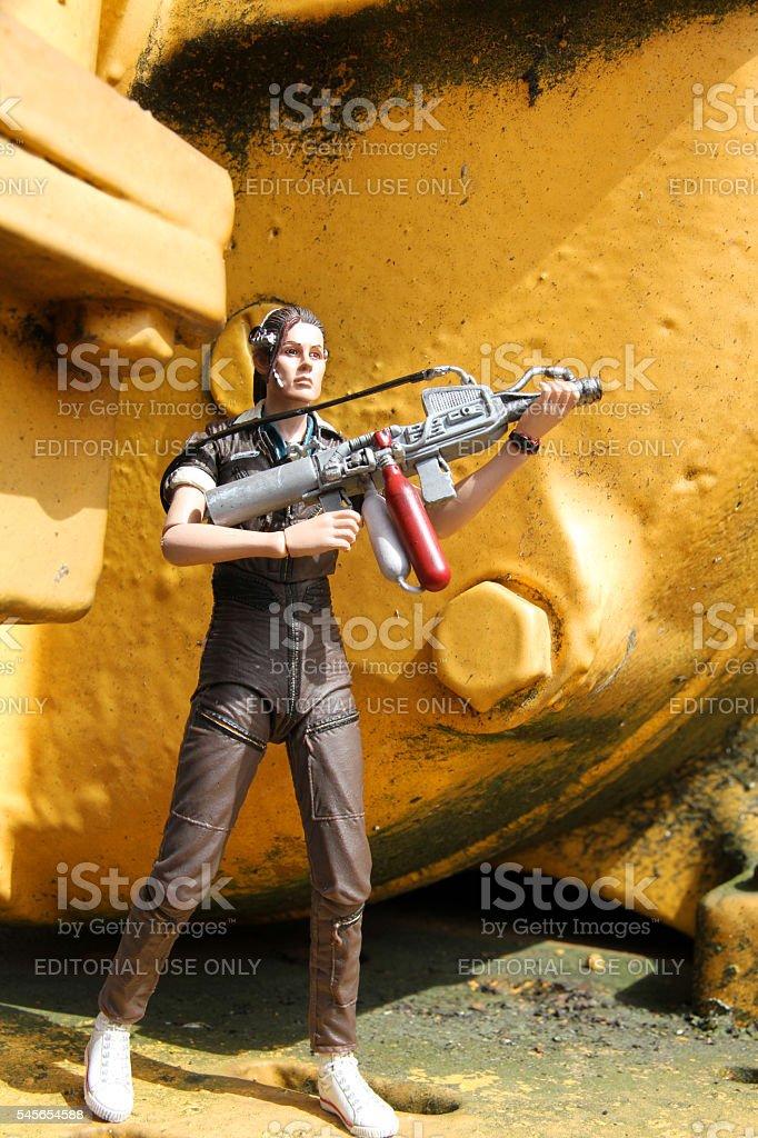 Improvised Warrior stock photo