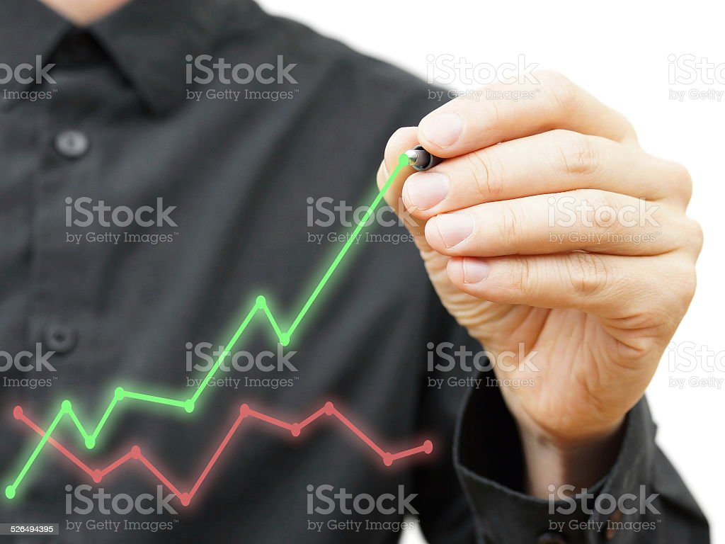 Improvment in business model concept, stock photo
