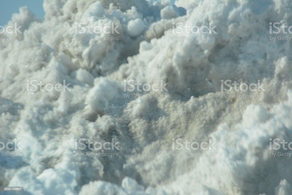 Impure Snow stock photo