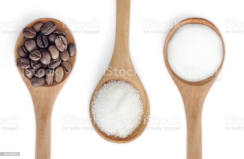 3 in 1 Coffee stock photo