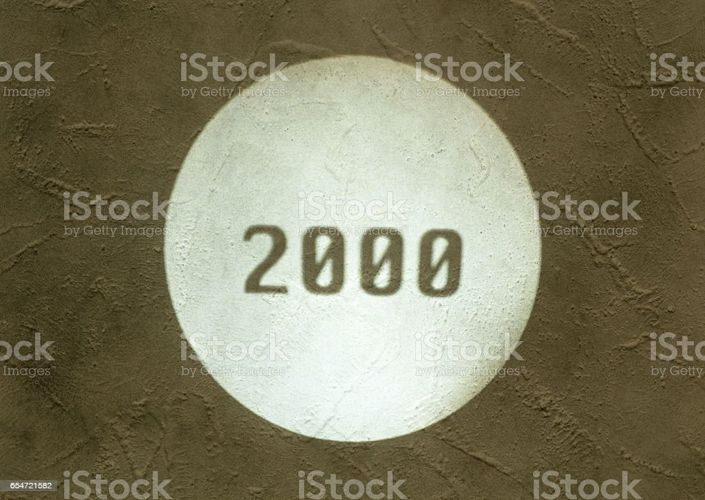 In 2000, image stock photo