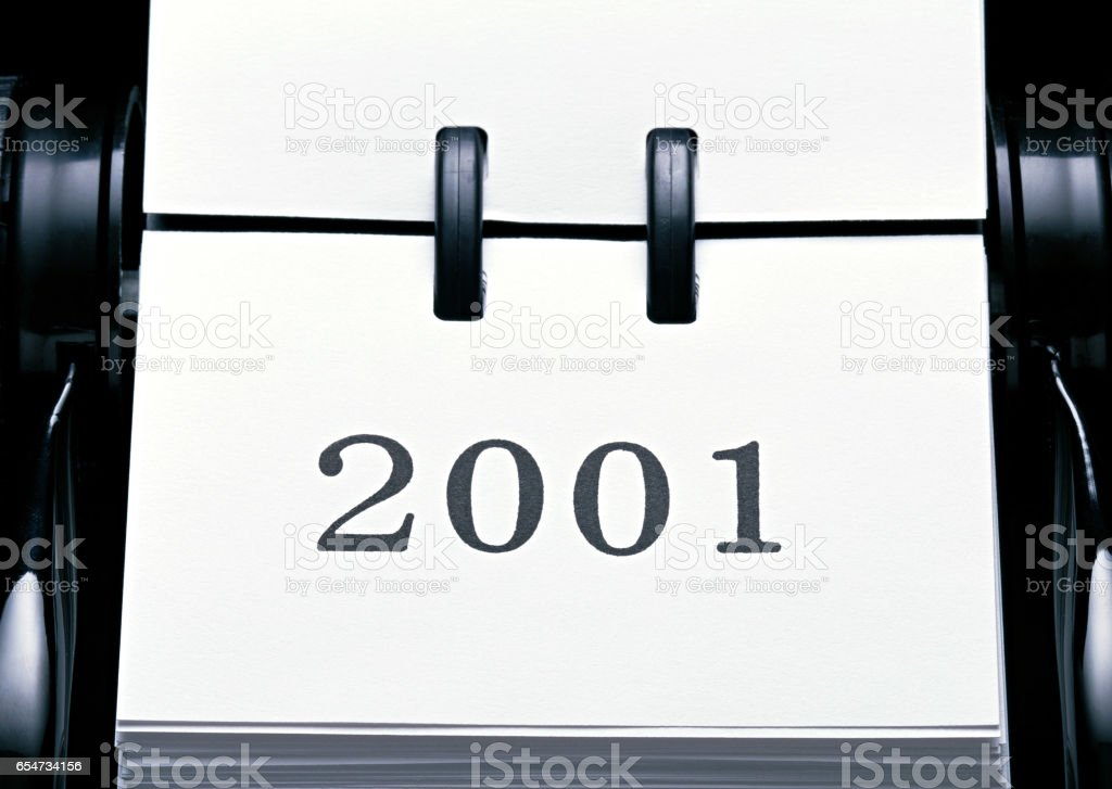In 2001, image stock photo