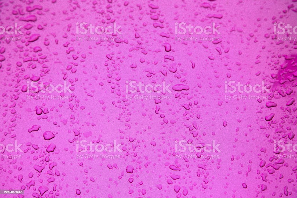 in a car reflexion and drop background blur stock photo