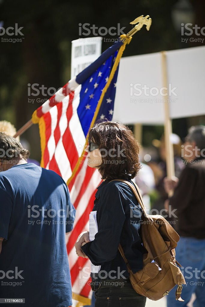 In A Crowd royalty-free stock photo