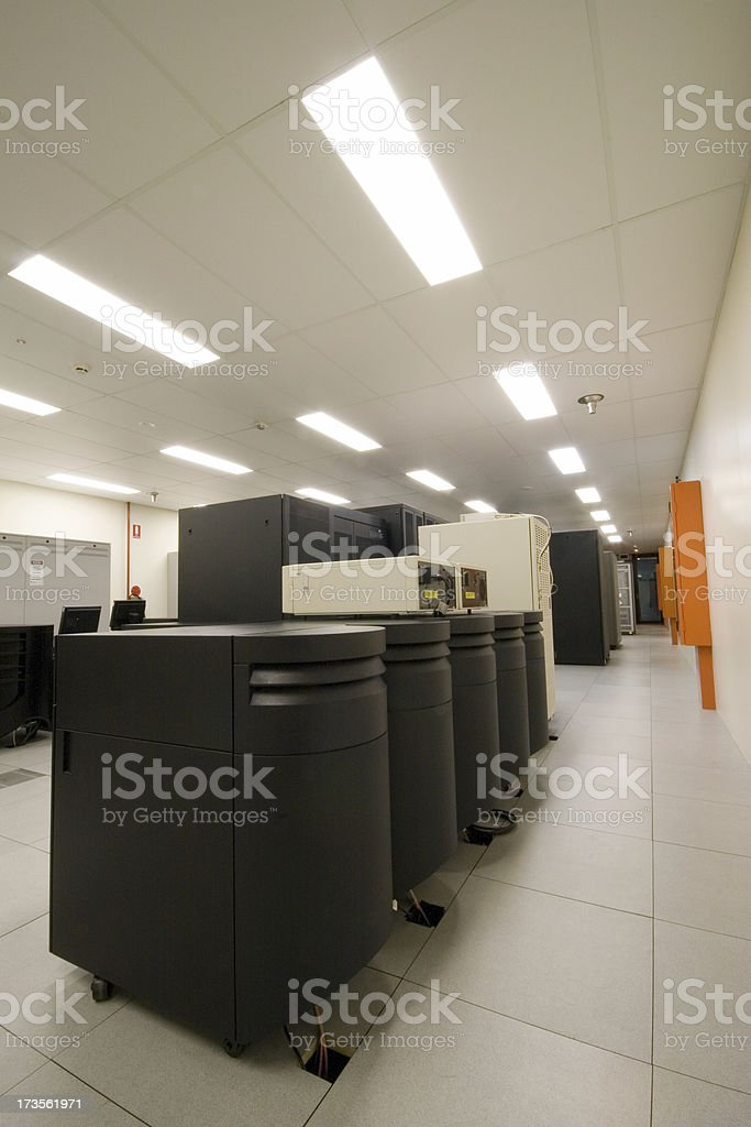 AS400 in a DC royalty-free stock photo