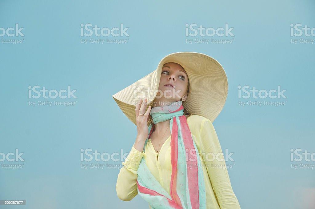 Em um Chapéu foto de stock royalty-free