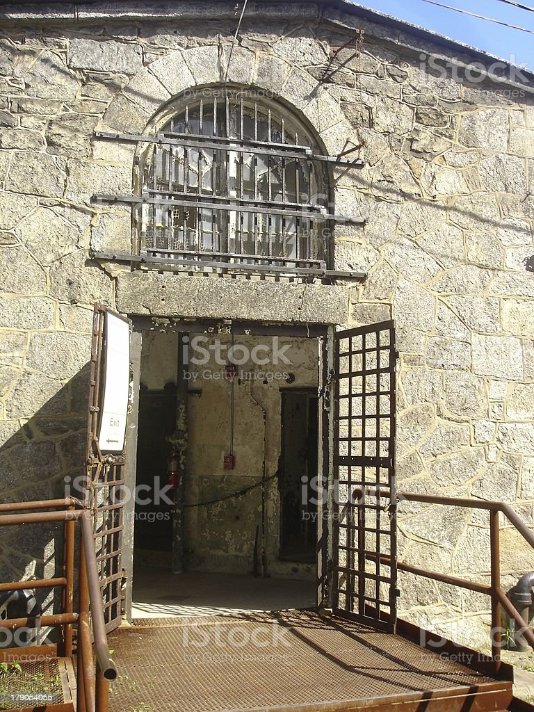 In A Jail stock photo