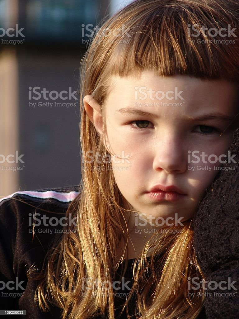 In a mood III royalty-free stock photo