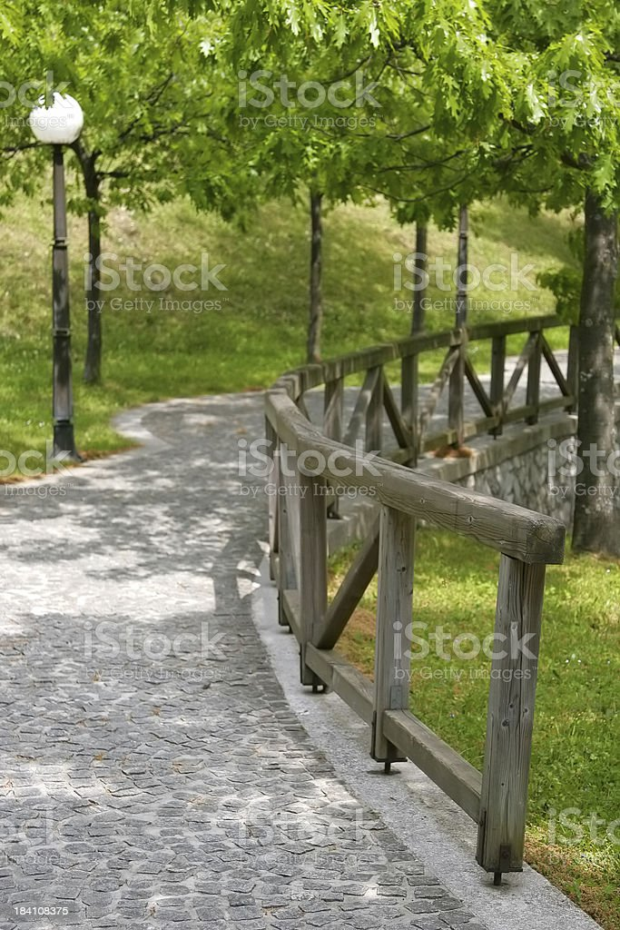 In a Park stock photo