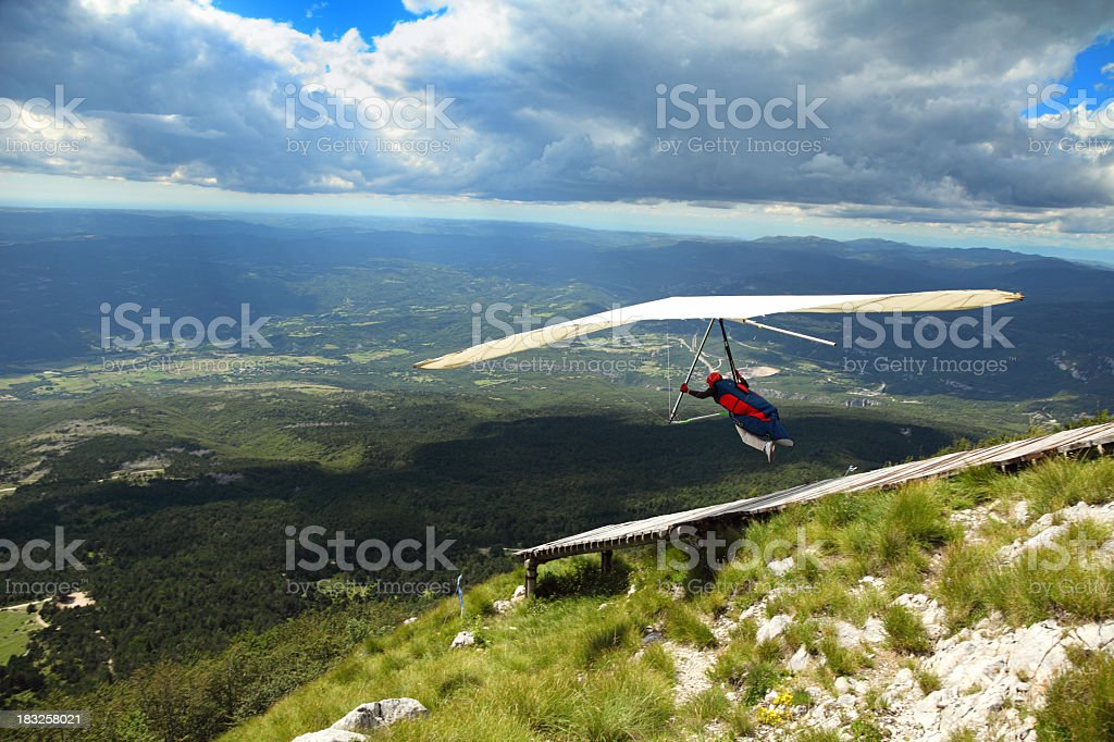 In air again royalty-free stock photo