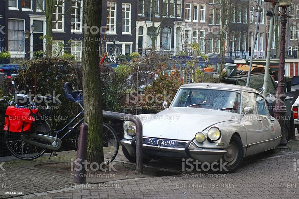 DS in Amsterdam stock photo