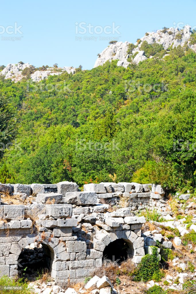 in anatolia land stock photo