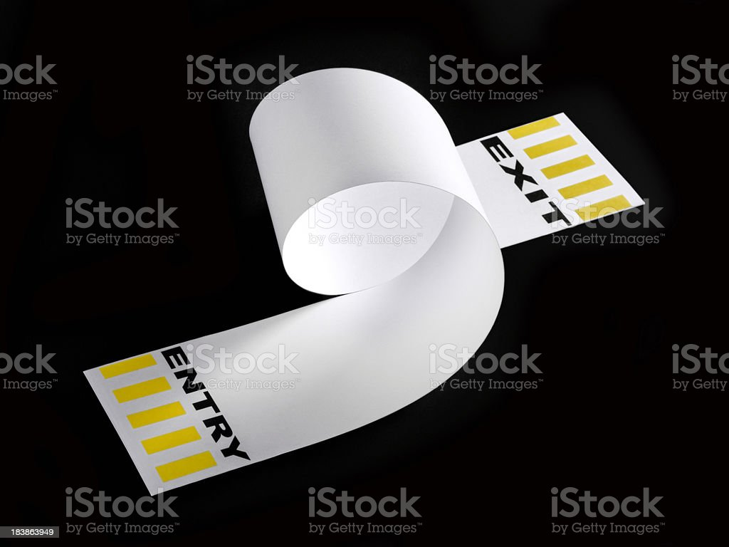 In and out loop royalty-free stock photo