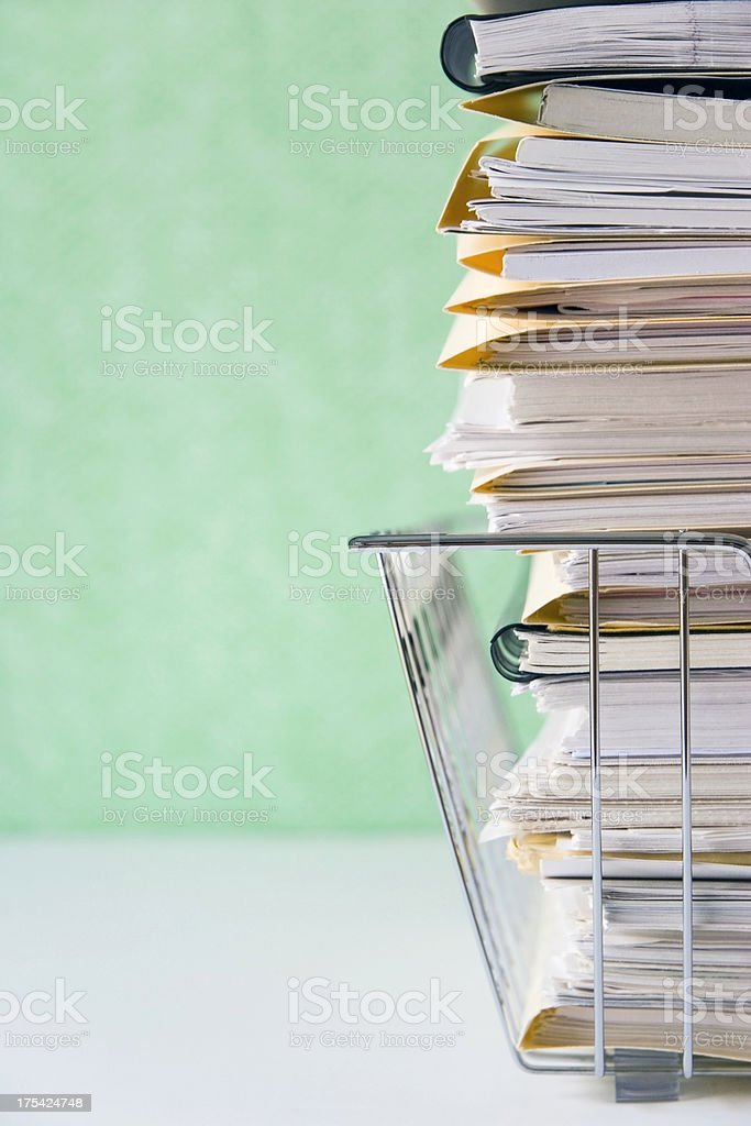 In Basket royalty-free stock photo