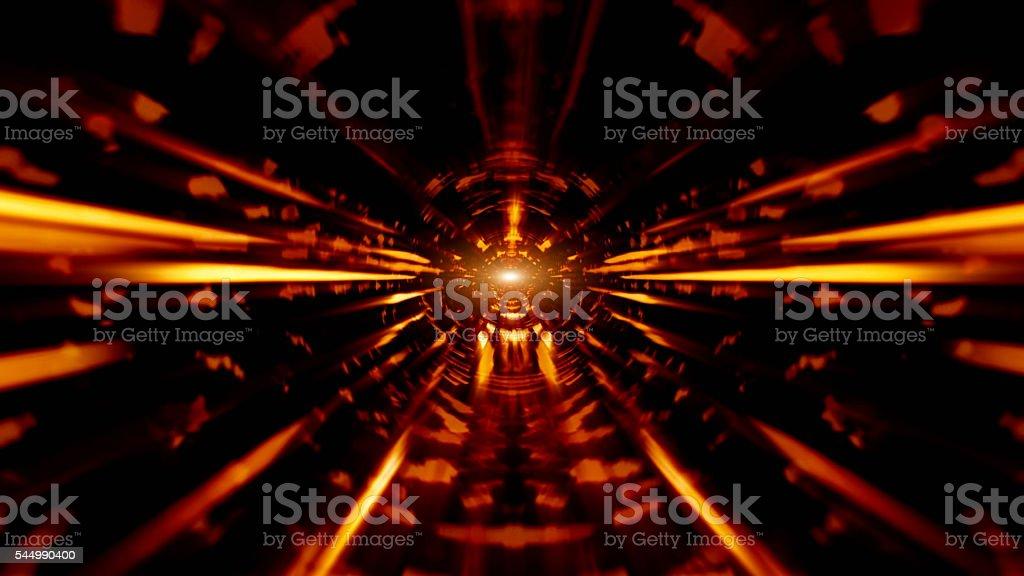 In between spaces stock photo
