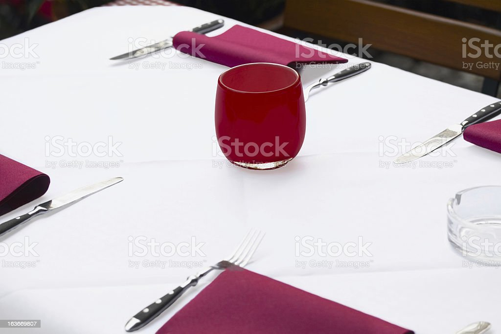 In bistro or restaurant stock photo
