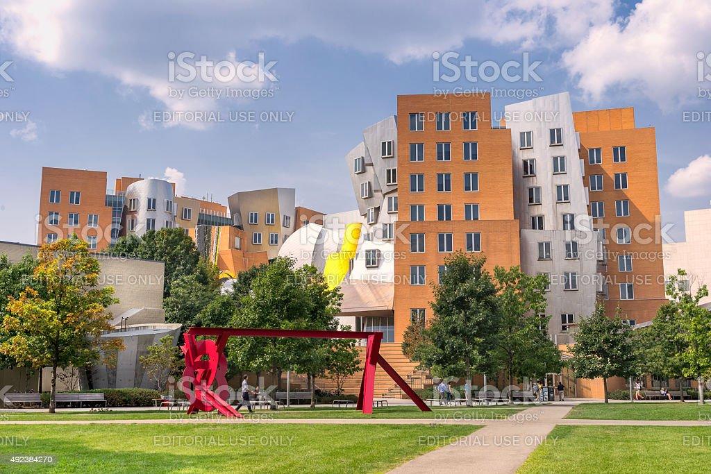 MIT in Boston stock photo