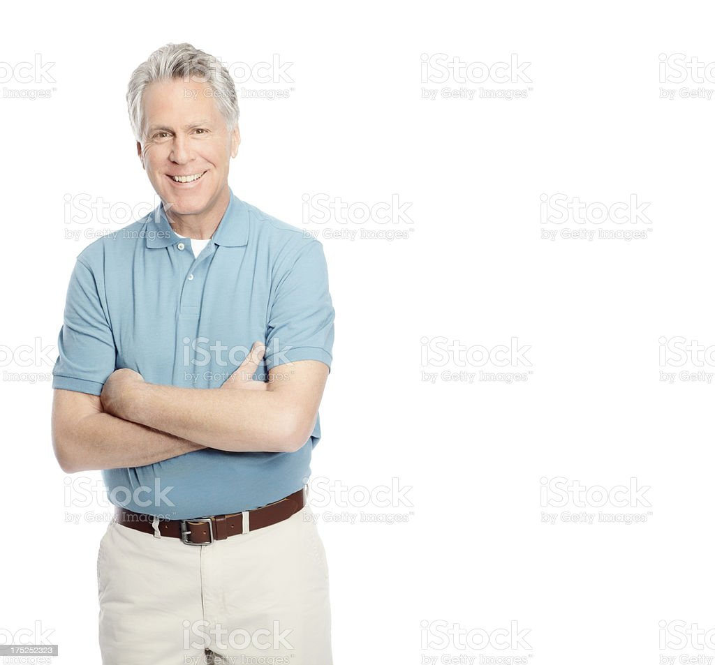 In charge of his life royalty-free stock photo