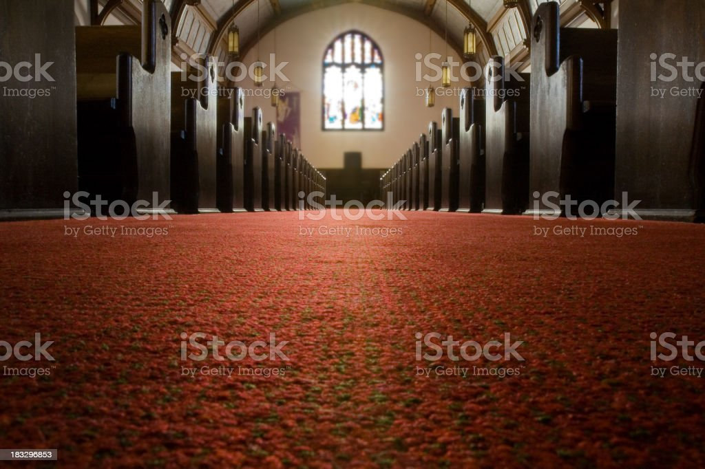 in church stock photo