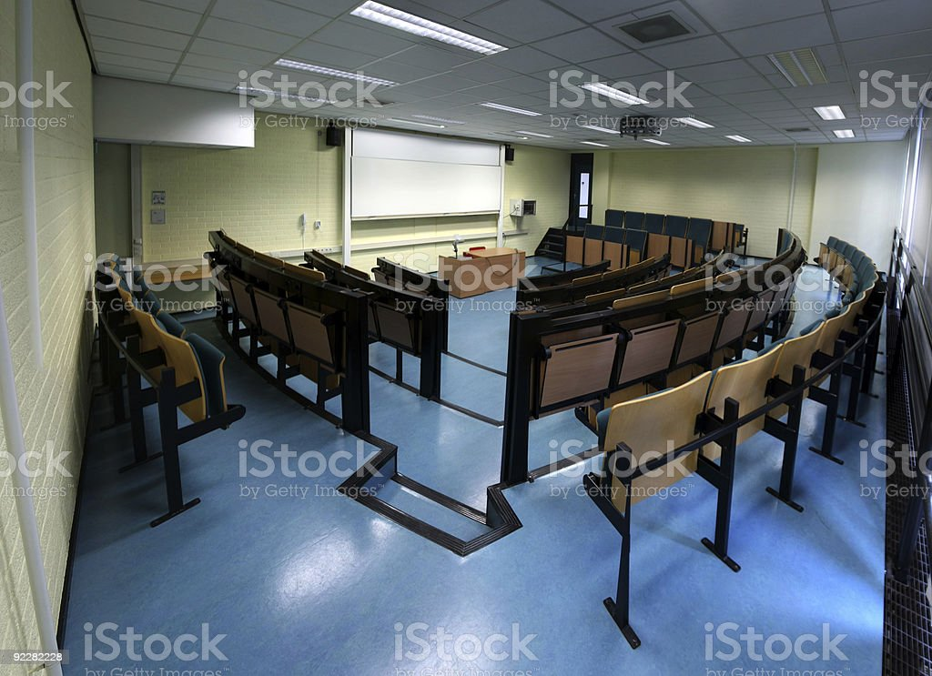 In class royalty-free stock photo
