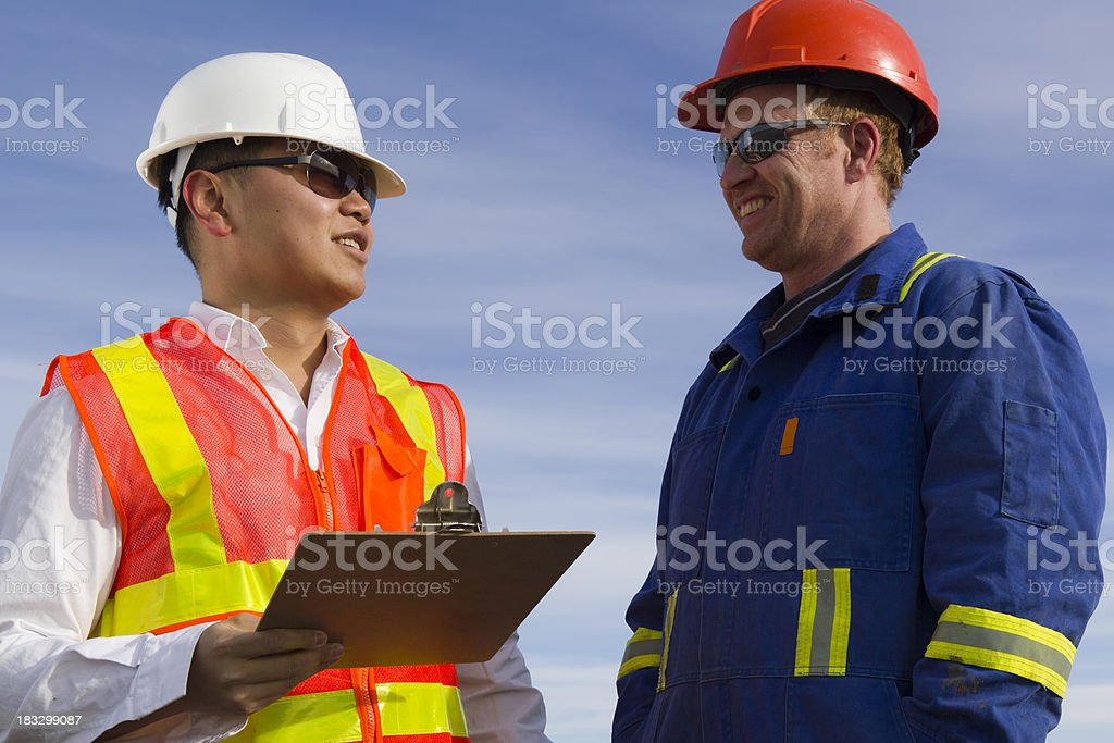 In Conversation royalty-free stock photo