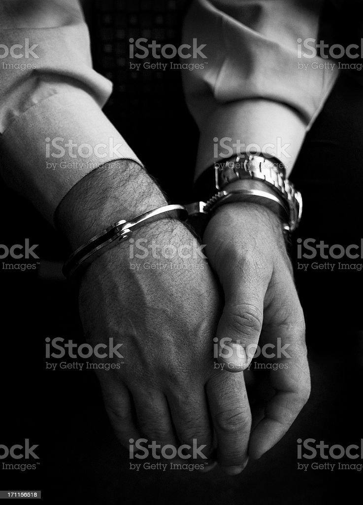 In Custody royalty-free stock photo