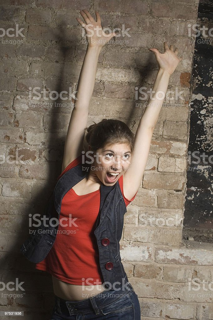 In dance. royalty-free stock photo