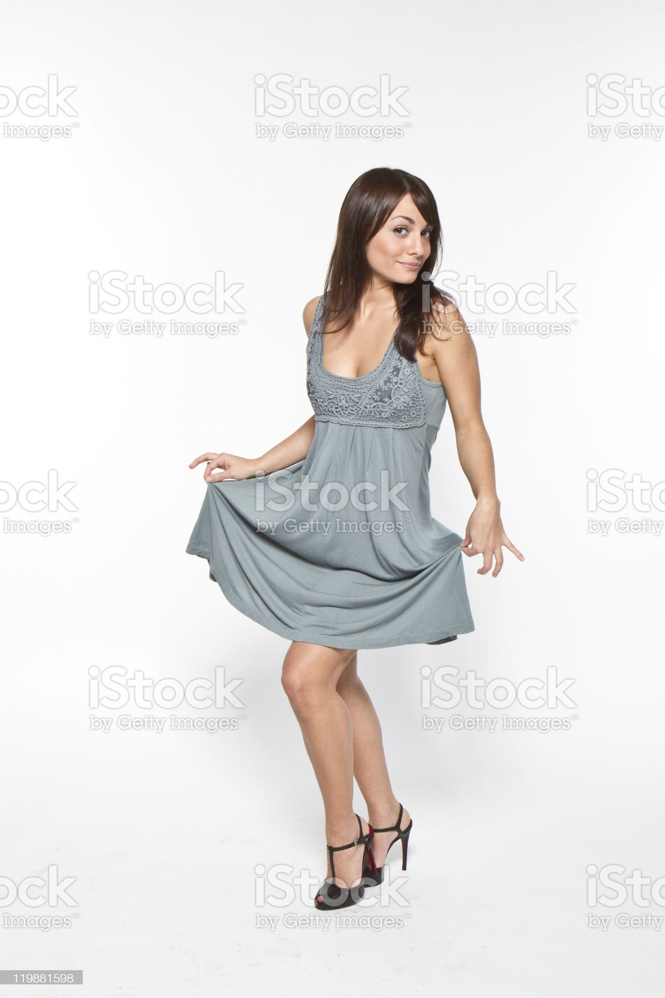 in dress royalty-free stock photo