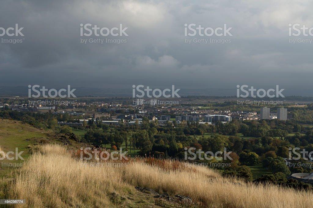 In Edinburgh stock photo