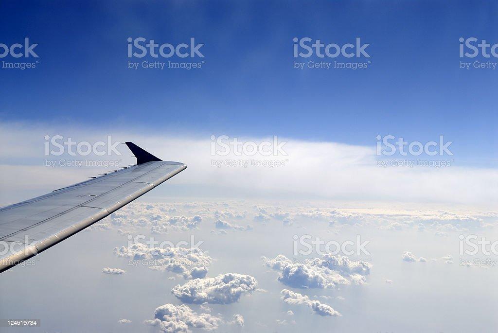 In Flight royalty-free stock photo