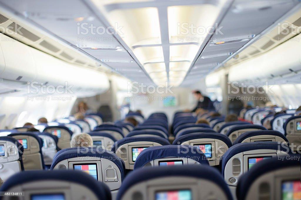 In Flight stock photo