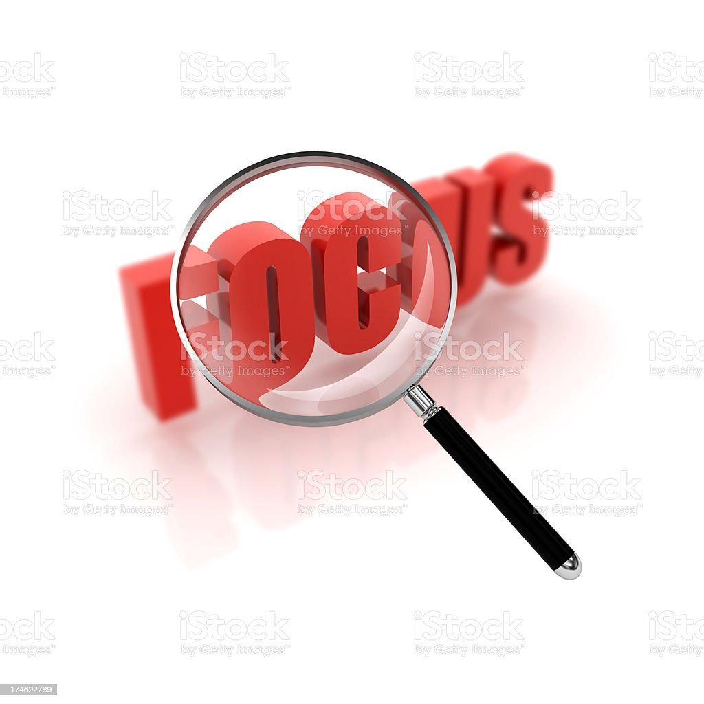 in focus royalty-free stock photo