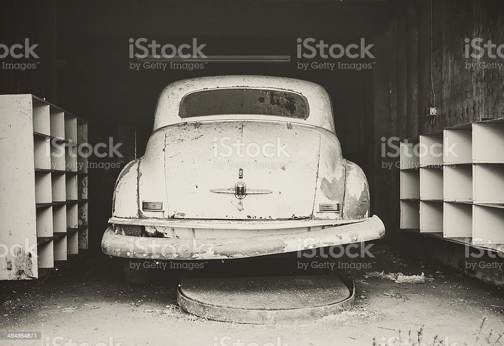 In for Service royalty-free stock photo