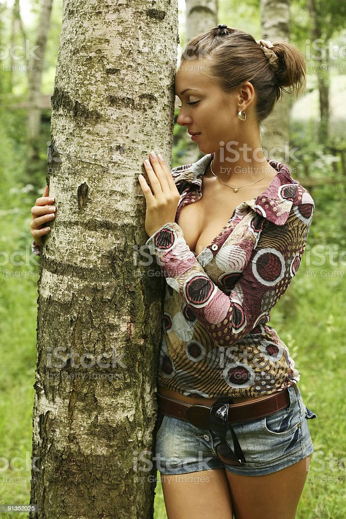 In forest royalty-free stock photo