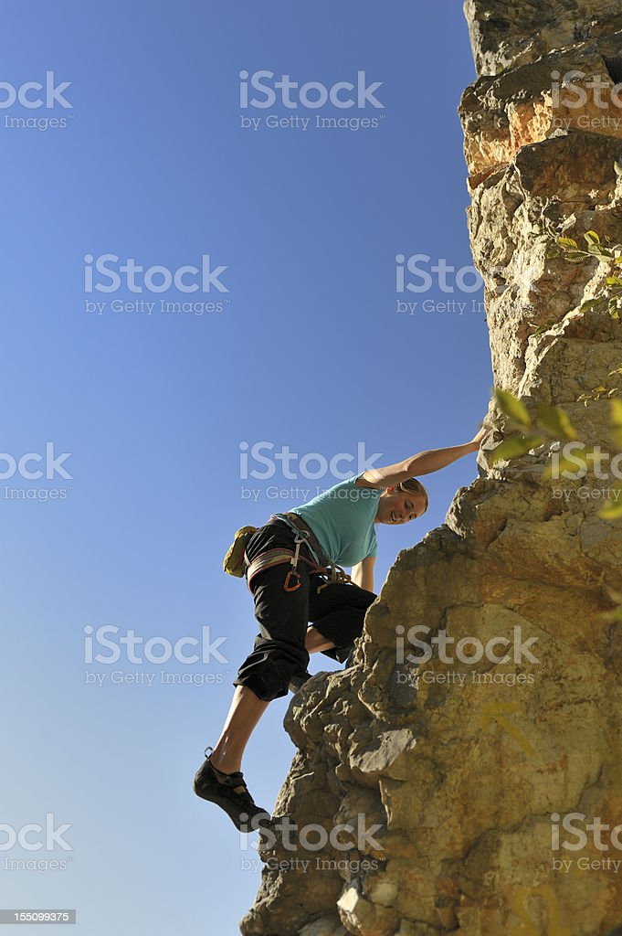 In front of blue sky royalty-free stock photo