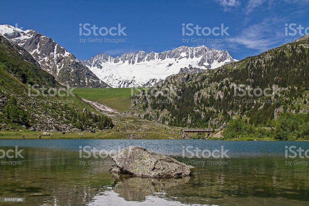 In Goeschen vallev stock photo