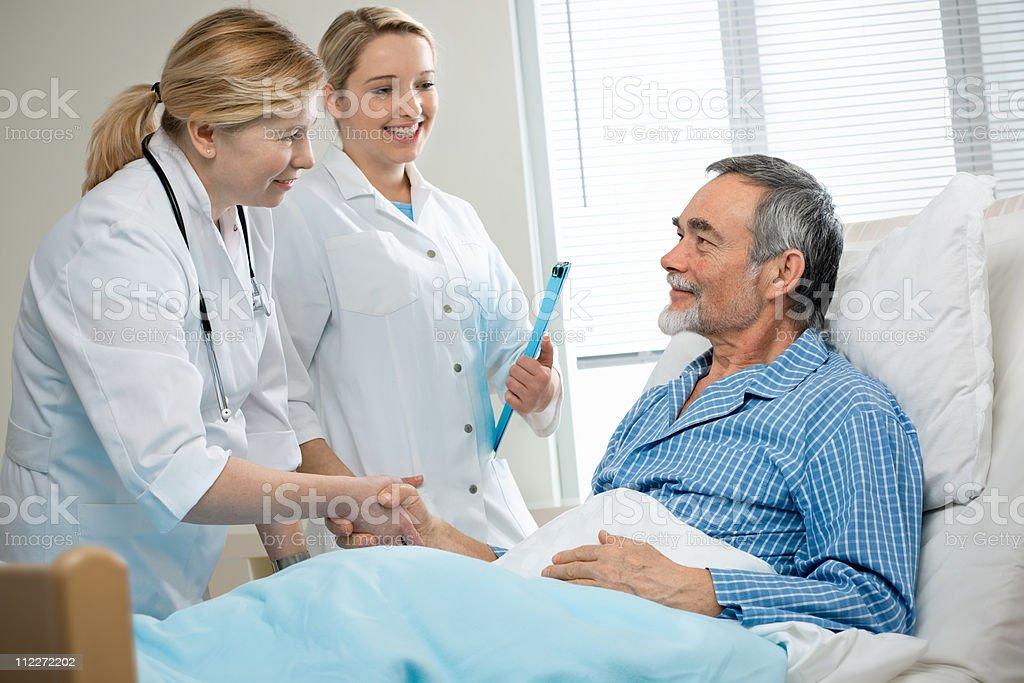 in hospital stock photo