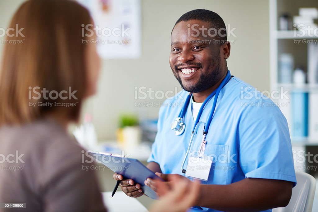 In hospital stock photo