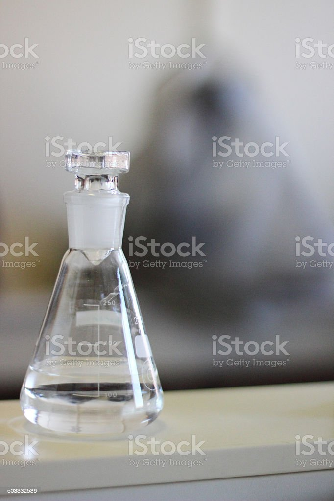 In laboratory stock photo