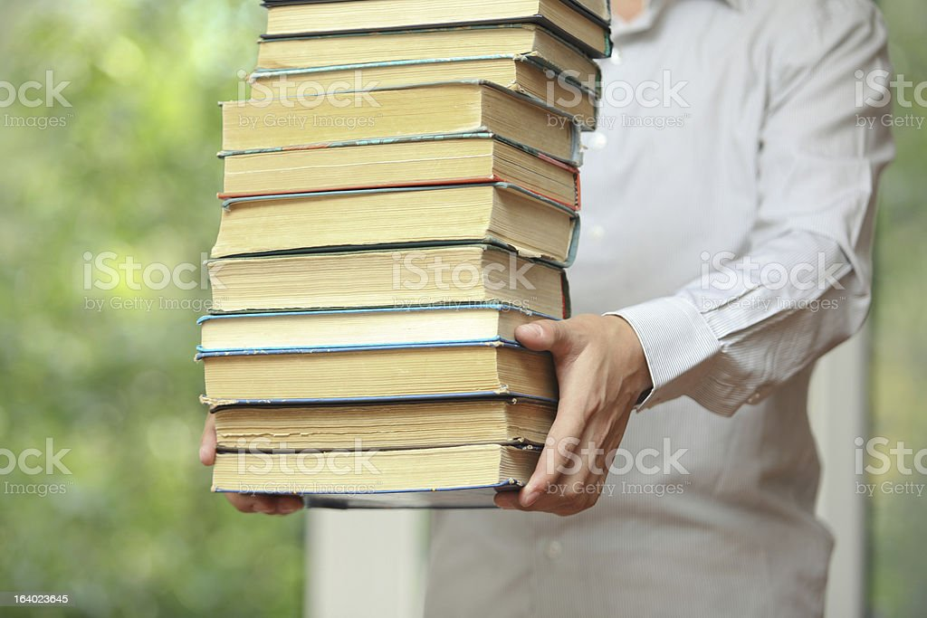 In library royalty-free stock photo