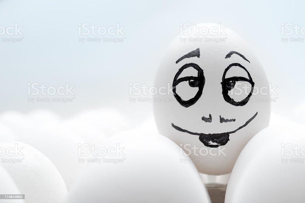 in love egg royalty-free stock photo