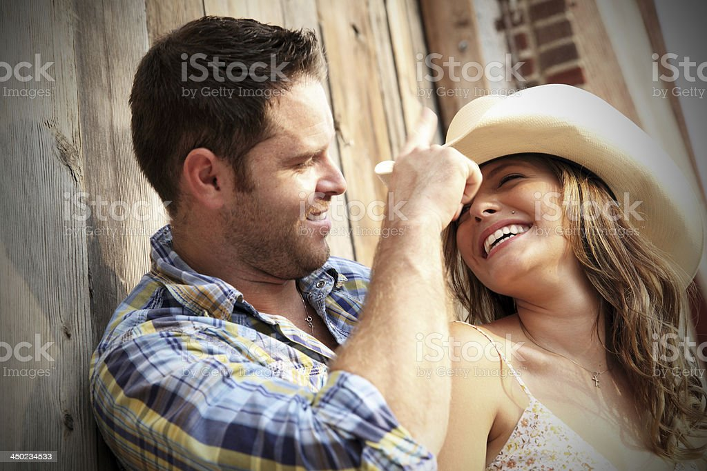 In Love stock photo