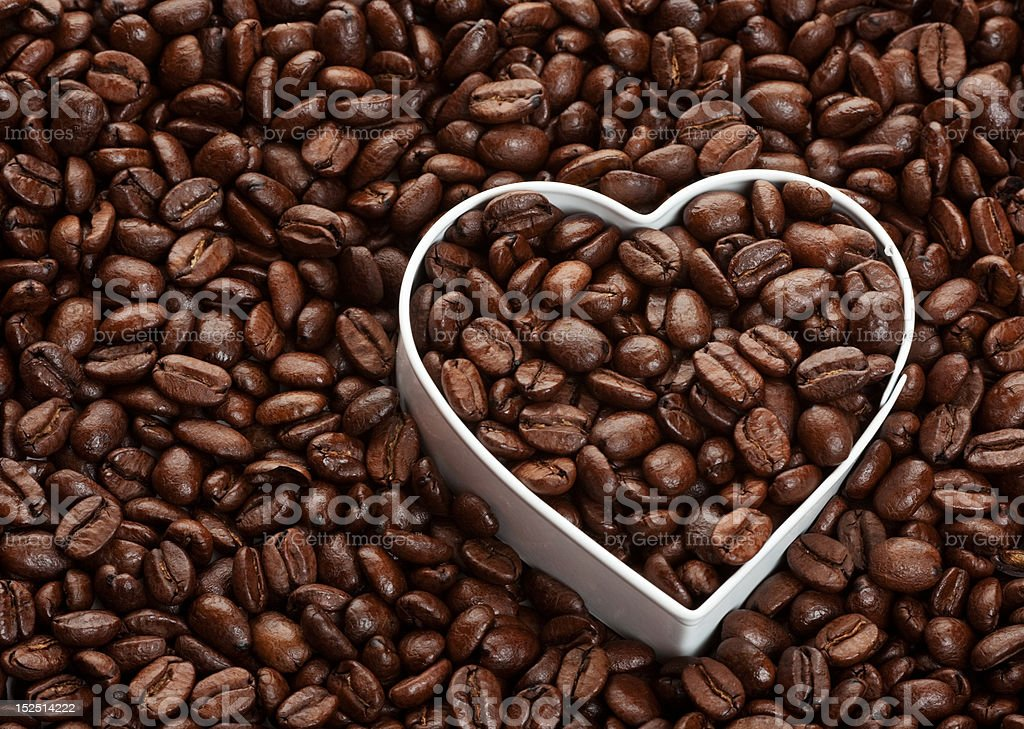 In Love With Coffee royalty-free stock photo