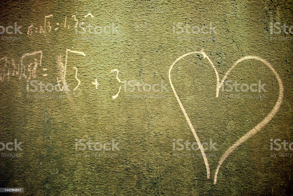 in love with math royalty-free stock photo