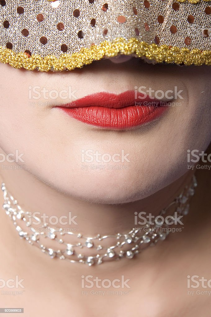 in mask royalty-free stock photo