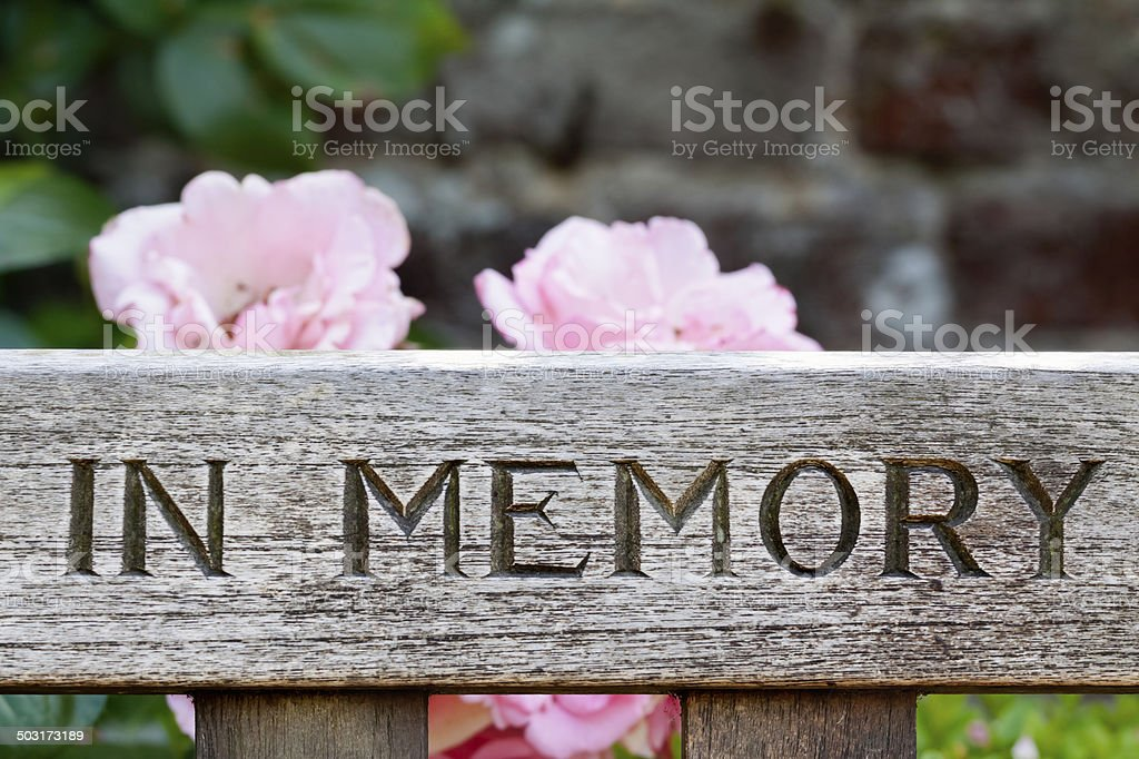 In Memory stock photo